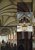 Orga bisericii evanghelice din Bistrița